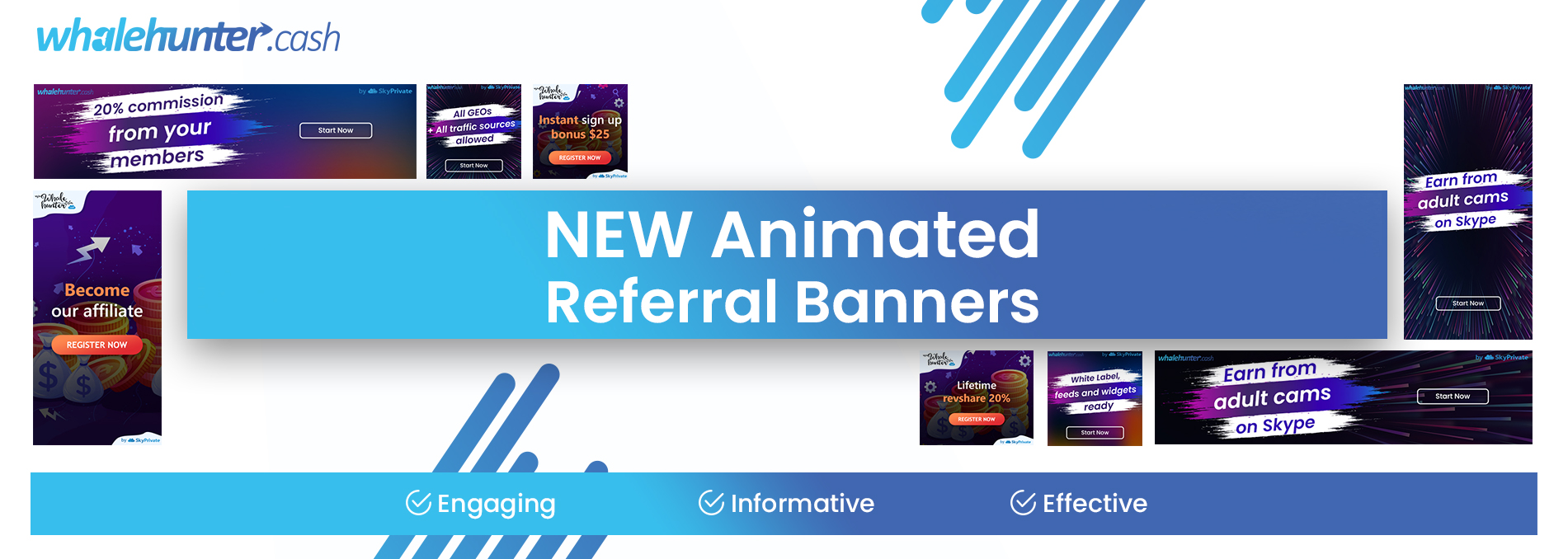 NEW Affiliate Referral Animated Banners — Already Available in Your Promo Links Section!